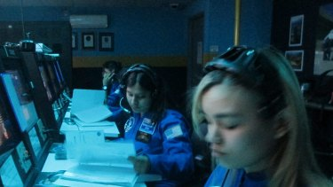 NSW high school students at Space Camp in Huntsville, Alabama.