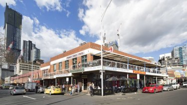 Sold: the sprawling Munro family site opposite Queen Victoria Market.
