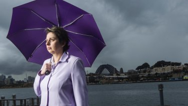 Sacked and reinstated temporarily: SES whistleblower Tara McCarthy, who was a deputy commissioner.