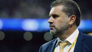Ange Postecoglou remains enigmatic about his future as Socceroos coach.