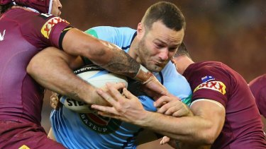 Ruled out: After playing strongly in the Origin opener, Boyd Cordner now faces an extended stint on the sidelines.
