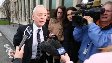 Former Family First senator Bob Day resigned from Parliament on Tuesday.