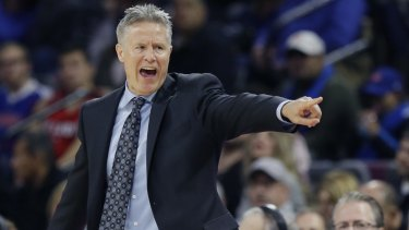 Philadelphia 76ers coach Brett Brown Brown is believed to have been allegedly defrauded of more than $250,000.