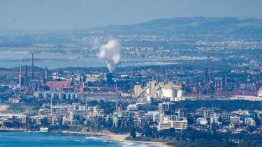 BlueScope Steel plant at Port Kembla is experiencing job losses.