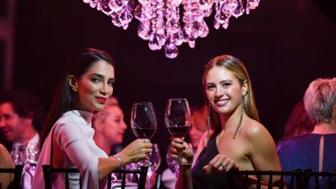 The gala will have to go down as Sydney's grandest dinner party of 2017.
