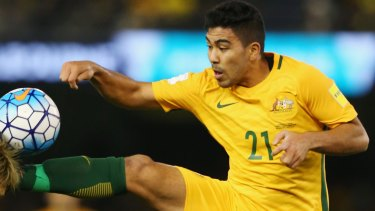 Ruled out: Massimo Luongo will not face Thailand in the World Cup qualifier in Bangkok.