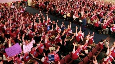 Nurses unite.