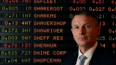 Dominic Stevens is not the only one smiling about his ascension to the top job at the ASX.