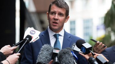 """""""A very sad chapter"""": Premier Mike Baird."""