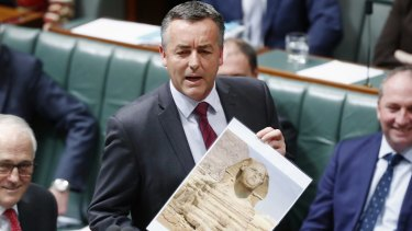 Minister for Infrastructure and Transport Darren Chester faces the axe.