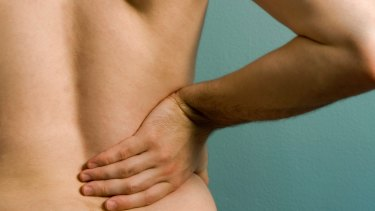 Back pain: there are big costs.