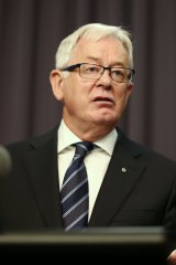 """Trade Minister, Andrew Robb: """"We won't support any provisions that would require the introduction of new civil remedies of criminal pelalties in Australia."""""""