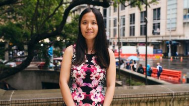 Chinese student Jing Su has enjoyed her time in Sydney despite the cost of living.