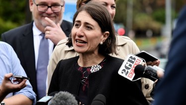NSW Premier Gladys Berejiklian nominated the governments housing strategy as a priority.