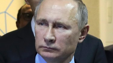Russian President Vladimir Putin denies his government hacked the US elections.