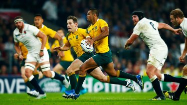 Key man: Kurtley Beale.