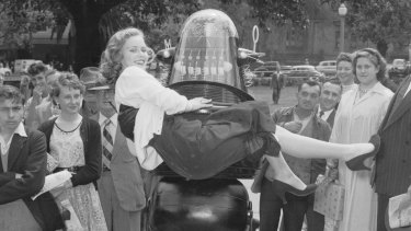 Robby the Robot in Sydney