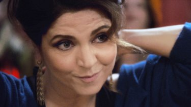 Agnes Jaoui in <i>Aurore</i>, a comedy that puts female menopause centre stage.