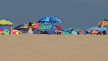 Manhattan Beach, California. Authorities in Los Angeles have had to consider the risk of  a nuclear attack.