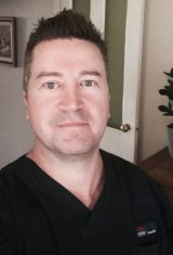 Trauma nurse Scott Hillsley.