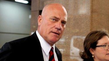 Former senior Leighton executive Stephen Sasse.