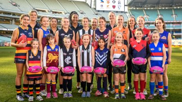 The AFL's Women's National League has  taken less than two years to form  after its first announcement.