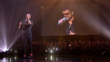 "Chris Martin's ""duet"" with George Michael was savaged by viewers."