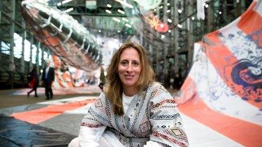 20th Biennale of Sydney director Stephanie Rosenthal at Cockatoo Island.