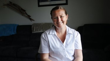 Larissa Williams works at The Lakeside School in Gateshead as a teacher's aide for students with a disability.