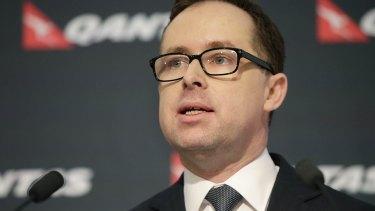 Qantas chief executive Alan Joyce's remuneration trebled during the last financial year.