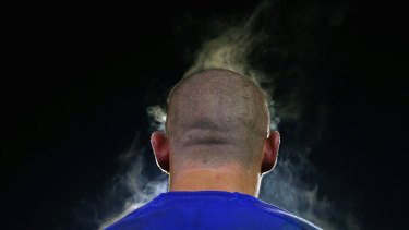 Steam cleaner: David Klemmer has let it be known he'll be going through, not around, his opponents.