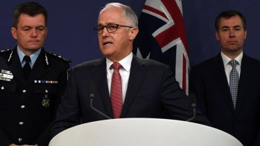 Prime Minister Malcolm Turnbull, AFP Commissioner Andrew Colvin and Justice Minister Michael Keenan said on Sunday that airport security had been stepped up.