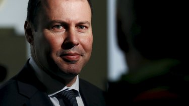 Nuclear options: Resources Minister Josh Frydenberg.