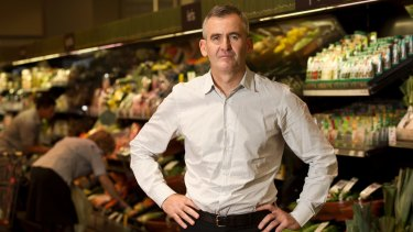 Woolworths food managing director Brad Banducci is seen as a potential candidate.