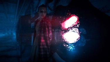 The highly-anticipated season begins with Eleven stuck in the Upside Down.