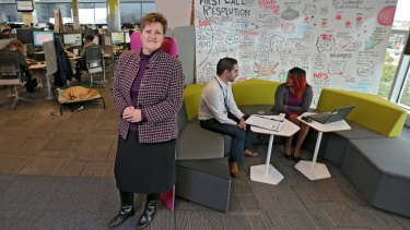 ANZ general manager of property Kate Langan said productivity increased over a five-month period thanks to the new office equipment.