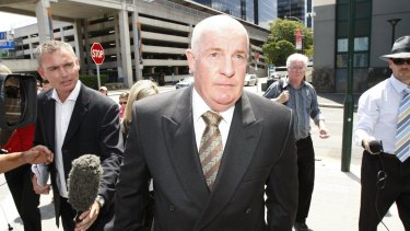 Former Labor minister Gordon Nuttall was moved to a minimum-security jail while the LNP held power.