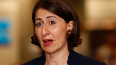 "In December, Gladys Berejiklian warned there were signs the NSW property market was cooling and growth from residential stamp duty ""is moderating""."