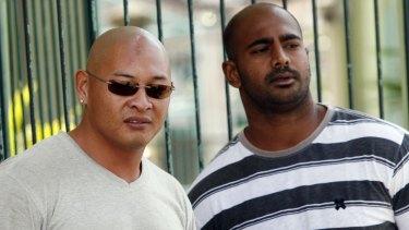 Profound impact: Andrew Chan, left, and Myuran Sukumaran.