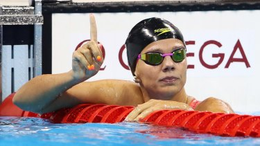 Controversial competitor: Russia's Yulia Efimova was booed before and during her 100m breaststroke semi-final.