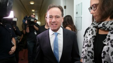 Environment Minister Greg Hunt was not involved in Unesco decision, his office says.