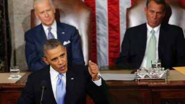 President Barack Obama's State of the Union address was seen as provocative in Moscow.