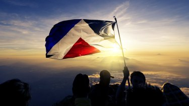 The Red Peak, the popular choice for the new Kiwi flag.