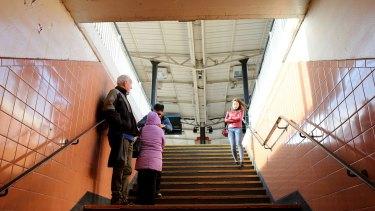 Richmond railway station staircase.