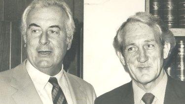 Tom Uren as deputy Labor leader to Gough Whitlam.