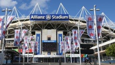 The exterior of Allianz Stadium.