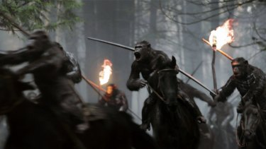 War for the Planet of the Apes puts the focus on the apes, allowing the film to shine an uneasy light on humanity.