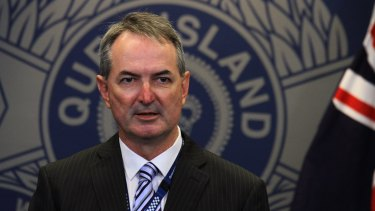 Acting Detective Superintendent Mick O'Dowd speaks to the media after a second Queensland Uber driver was charged with rape.