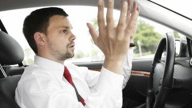 Road rage is a likely symptom of this modern disease.