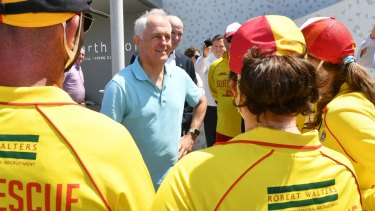 Malcolm Turnbull was quickly on the defensive.